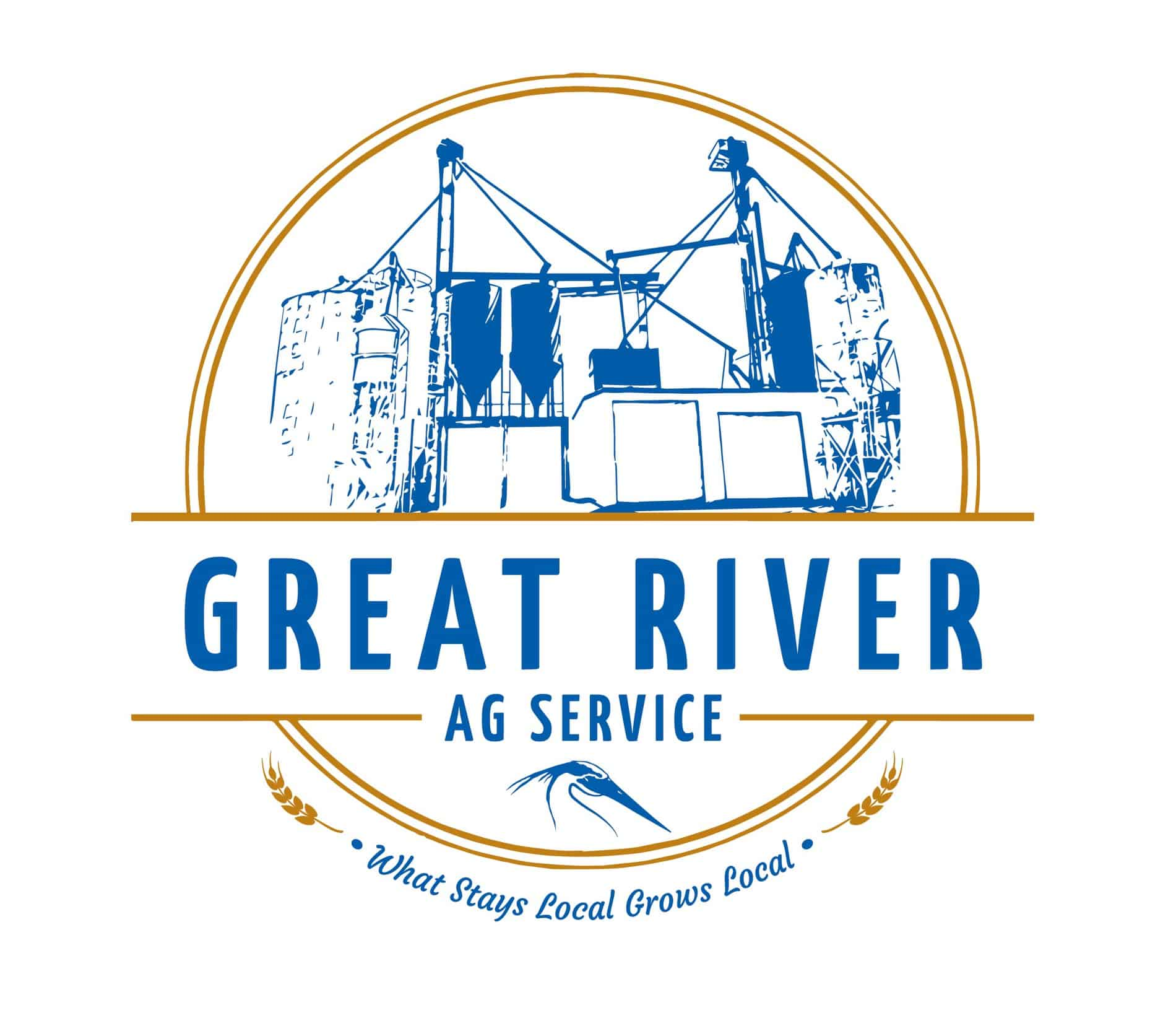 Great River Ag Service Logo
